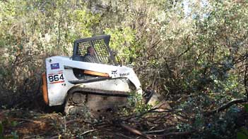 Remote access is easy for a Bobcat